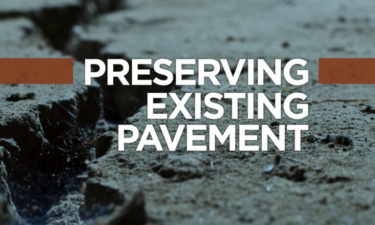Concrete pavement preservation techniques reduce roadway maintenance and repair costs.
