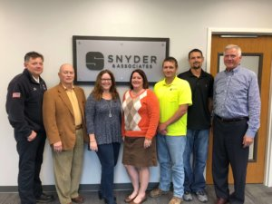 A group photo of the team that worked on the Council Bluffs Dream Playground Reimagined project.