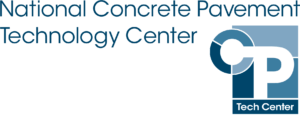 The logo of the National Concrete Pavement Technology Center (CP Tech Center).